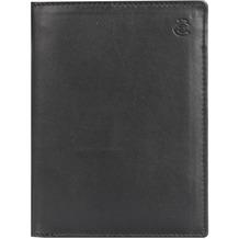 Esquire Eco Geldbörse Leder 9,5 cm black