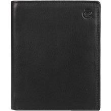 Esquire Eco Geldbörse Leder 9,5 cm schwarz