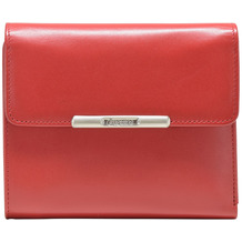 Esquire Helena Geldbörse Leder 12 cm rot