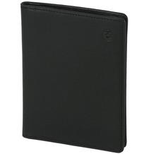 Esquire Logo Ausweisetui Leder 9 cm schwarz