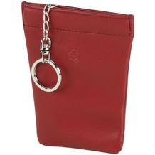 Esquire Logo Schlüsseletui Leder 9 cm rot