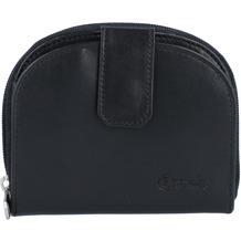 Esquire New Silk Geldbörse Leder 10,5 cm schwarz