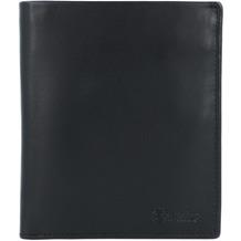 Esquire New Silk Geldbörse Leder 10 cm schwarz
