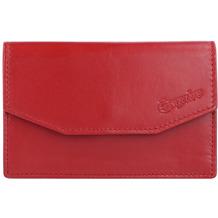 Esquire New Silk Schlüsseletui Leder 11 cm rot