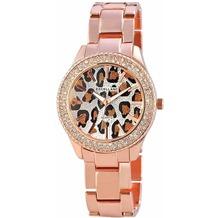 Excellanc Damenuhr mit Metallband - rosévergoldet 150832500003