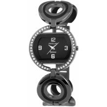 Excellanc Damenuhr mit Metallband - schwarz 154071000015