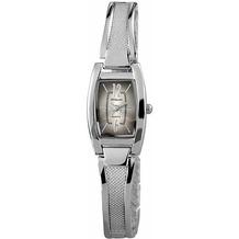Excellanc Damenuhr mit Metallband - silber 180421000028