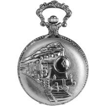 Excellanc Taschenuhr mit Dampflok-Motiv auf Deckel 480322000004