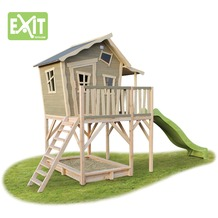 EXIT Crooky 750 Holzspielhaus - graubeige