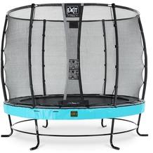 EXIT Elegant Premium Trampolin mit Deluxe Sicherheitsnetz - blau ø253cm