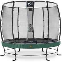 EXIT Elegant Premium Trampolin mit Deluxe Sicherheitsnetz - grün ø253cm
