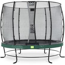 EXIT Elegant Trampolin mit Economy Sicherheitsnetz - grün ø253cm