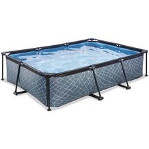 EXIT Frame Pool 300x200x65cm (12v) - Grau