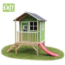 EXIT Loft 300 Holzspielhaus - grün