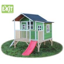 EXIT Loft 350 Holzspielhaus - grün
