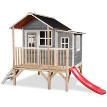 EXIT Loft 350 Holzspielhaus - grau