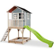 EXIT Loft 700 Holzspielhaus - blau