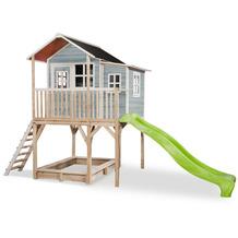 EXIT Loft 750 Holzspielhaus - blau