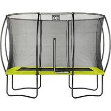 EXIT Silhouette Trampolin Rechteckig Limette 214x305cm (7x10ft)