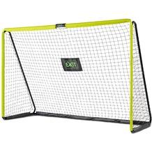 EXIT Tempo stählernes Fußballtor - grün/schwarz 240x160cm