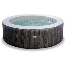 EXIT Wood Deluxe Whirlpool ø204x65cm - dunkelgrau