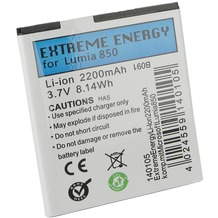 Extreme Energy Li-Ion 2200mAh komp. mit Microsoft Lumia 850