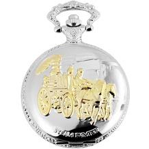 Fame Taschenuhr - silberfarbig 480812000074