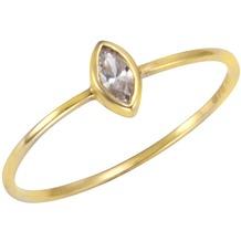 Fascination by Ellen K. Celesta Gold Ring 375/- Gelbgold Zirkonia  12935 52 (16,6)