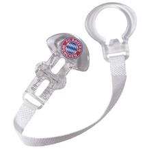 FC Bayern Schnullerband weiß