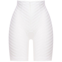 Felina Weftloc Panty lang Weiß 65