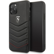 Ferrari Heritage Quilted - Apple iPhone 11 Pro Max Leder Hard Cover Handyhülle Schutzhülle