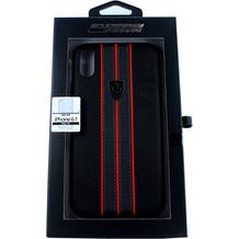 Ferrari Off Track, Hard Case, Apple iPhone XR, Schwarz