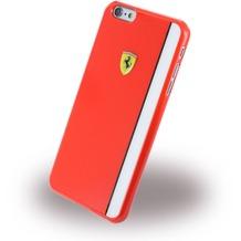 Ferrari Scuderia - Hard Cover/ Case/ Schutzhülle - Apple iPhone 6 Plus/6s Plus - Rot/Weiss