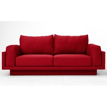 FEYDOM CLOUD-B 2.5 Sitzer Sofa Schlafsofa Day.Bed, Rot