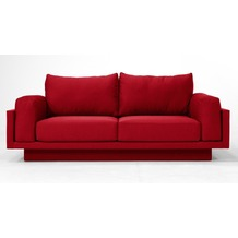 FEYDOM CLOUD-B 2.5 Sitzer Sofa Schlafsofa Day.Be, rot