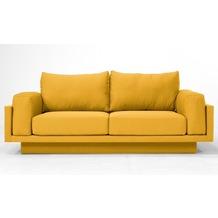 FEYDOM CLOUD-B 2.5 Sitzer Sofa Schlafsofa Day.Bed, Gelb