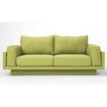 FEYDOM CLOUD-B 2.5 Sitzer Sofa Schlafsofa Day.Bed, Grasgrün