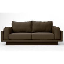 FEYDOM CLOUD-B 2.5 Sitzer Sofa Schlafsofa Day.Bed, Schokoladen Braun