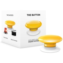 Fibaro The Button - Z-Wave - gelb