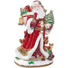 Fitz & Floyd Figur Santa mit Geschenken 48,0 cm