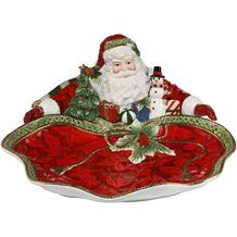 Fitz & Floyd Fitz&Floyd Schale Santa präsentiert 35x15,5 cm