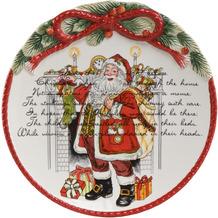 Fitz & Floyd Teller Weihnachtsteller 24,0 cm