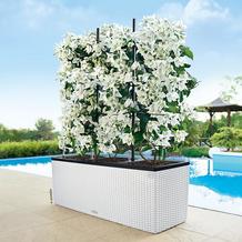 fleur ami Blumentopf Cottage Trio, 130x42/44 cm, weiß, Komplett-Set