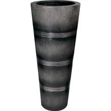 fleur ami Blumentopf innen Cosmos, 50/115 cm, black/alu