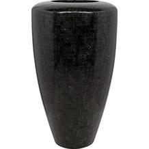 fleur ami Blumentopf innen Geo, 60/110 cm, black polished
