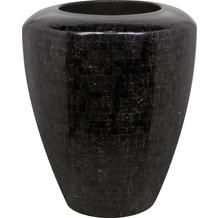 fleur ami Blumentopf innen Geo, 60/70 cm, black polished