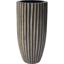fleur ami Blumentopf innen Sahara, 50/100 cm, black stripes