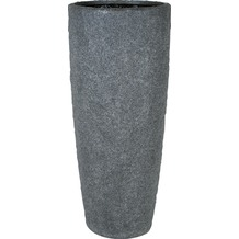 fleur ami Blumentopf Rocky, 43/100 cm, smoke granite