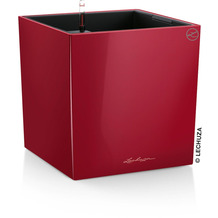 fleur ami CUBE Pflanzgefäß Komplett-Set, 40x40/40 cm, scarlet rot