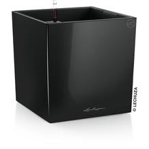 fleur ami CUBE Pflanzgefäß Komplett-Set, 40x40/40 cm, schwarz